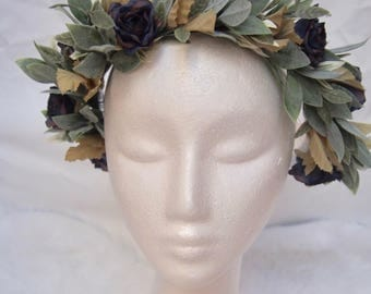"""The """"Ezmay"""" Flower Crown"""