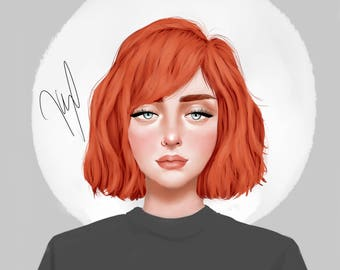 CUSTOM DIGITAL PORTRAIT