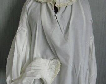 Renaissance men's shirt