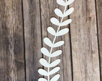 Paper Flower Leaves Set/Vines Set - This include 1 dozen / 12 pcs