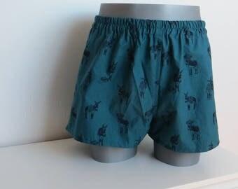 Donkey print men pants