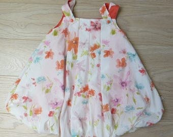 bubble dress coton