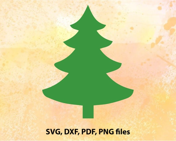Christmas Tree Svg File Christmas Tree Cut File Png