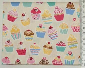 Fabric - Retro Bake 09 - Makower kitchen vintage
