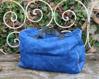 Large Royal Blue weekend bag