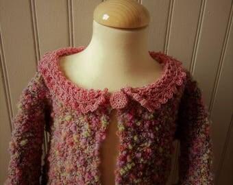 Nice vest cotton multicolored little coquette 4t