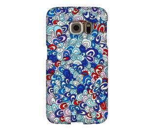 Case Samsung S3, S4, S5, S6, S7, A3, A5, A7, J3, Note, LIBERTY RAINBOW RAVE