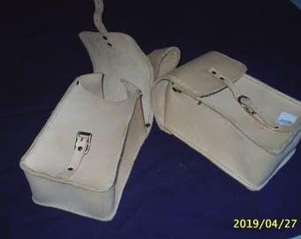 Bags for western saddle pommel
