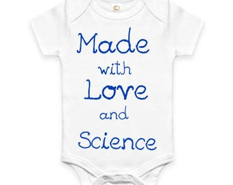 Love and Science onesie