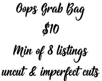 Oops Grab Bag/ Oops Stickers/ Stickers/ Planner Stickers/ Imperfect Stickers