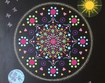 Gaia mother earth mandala
