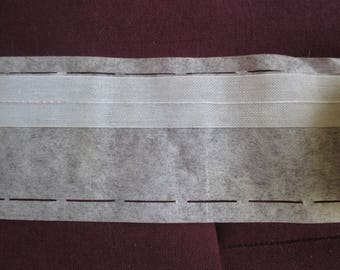 interfacing fusible belt 8.5 cm