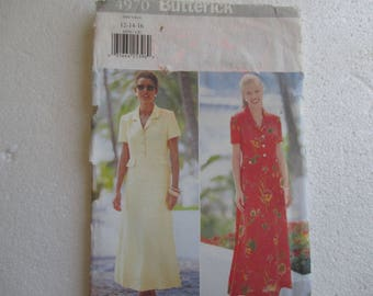 pattern dress size 40 size 42 size 44 Butterick