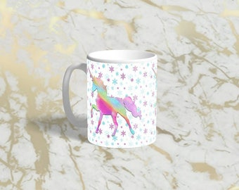 Unicorn sublimation mug