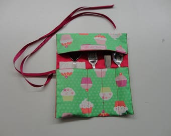 covered in cotton printed cup cake case