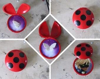 Miraculous, Ladybug, Cat Noir, Yo-Yo, Halloween, Costume, Cosplay, Marinette