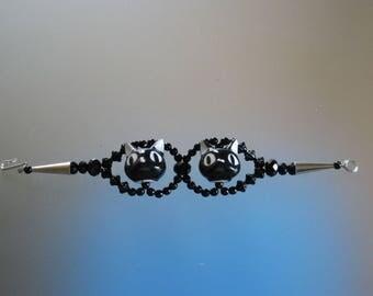 Bracelet Black cats