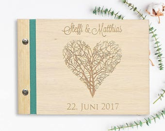 Love Tree guestbook to the wedding