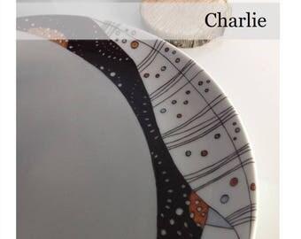 Charlie - Fiche créative peinture sur porcelaine