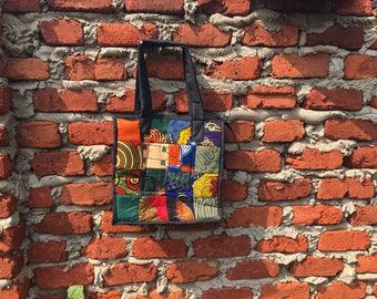 Patchwork Tote Bag