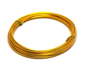 6 m 1.5 mm aluminium wire, orange