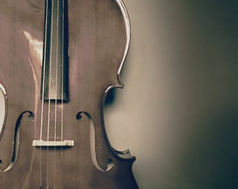 Cello Still Life Fine Art Photography Print. 8x12