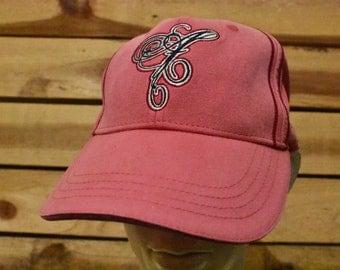 Vintage Pink A Hat