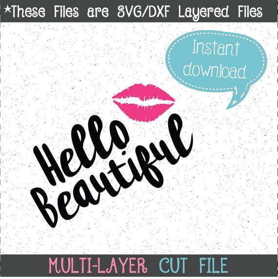 Kiss And Makeup Svg: Hello Beautiful SVG Makeup Jar SVG Makeup Decal Makeup