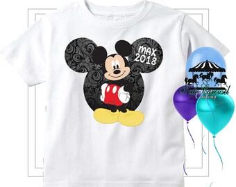 Mickey Mouse Disney Vacation Shirt, Personalized Shirt  (mc574)