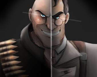 Heavy and Medic