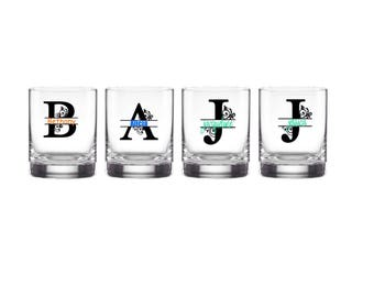 Customized Double Old Fashioned Glasses