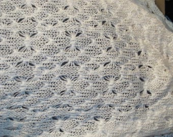 fabric crochet mesh knit cotton in 150 cm wide