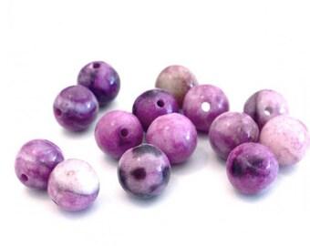 X 50 unakite ❤ ❤ 4mm stone beads