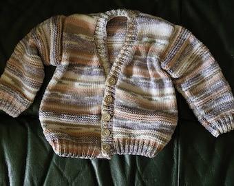 cotton Brown gradient boy vest size 1 year