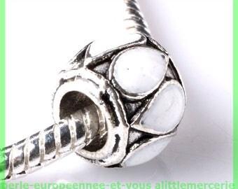 N221 European spacer bead for bracelet charms
