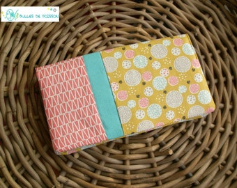 "checkbook wallet ""an air of spring"""