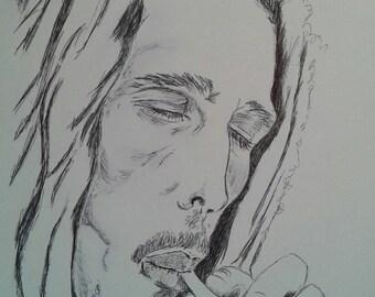 Bob Marley pen