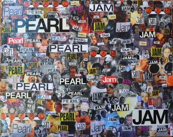 Pearl Jam Mini Collage
