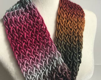 Handmade Knitted Infinity Scarf 3030