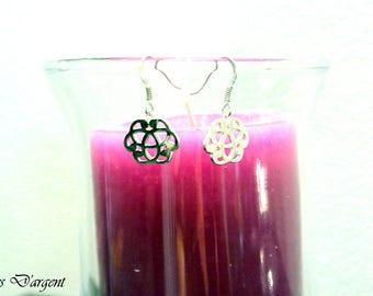 925 sterling silver Celtic earrings