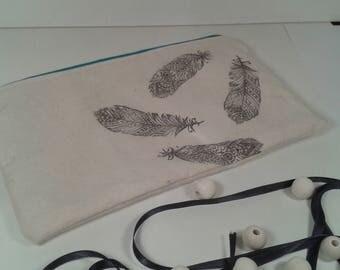 Kit flat feather