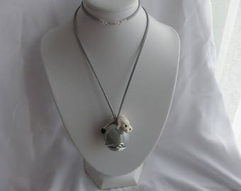 This necklace is a symbol of Brittany: ermine