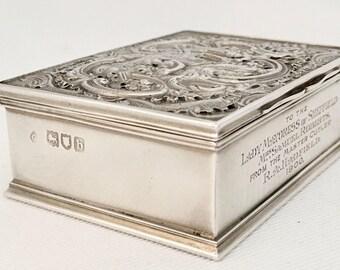 Silver Box London 1897
