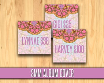 "SMM Album Covers; 5"" x 5""; HO approved, Group Cover, Cover Photo; Approved Fonts and colors; Instant Download"