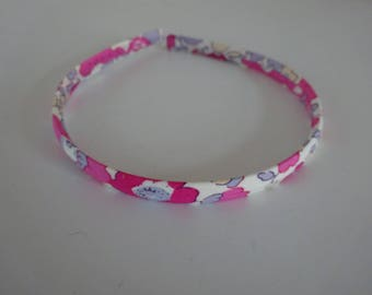 Headband liberty betsy bougainville, child size