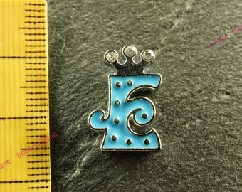 Pearl e busy N5 rhinestone Crown for bracelet