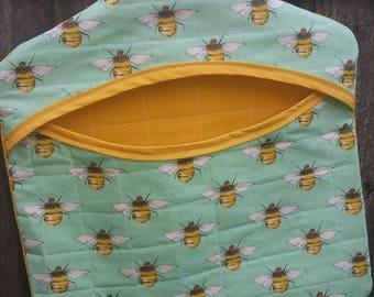 Bumblebee Clothes Peg Bag