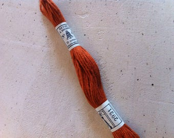 Skein of cotton plied to overcast old Brown 2921
