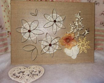 decorative wall flowers