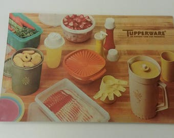 Vintage Tupperware Catalog from 1974